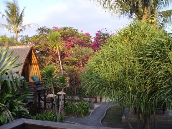 Hotel Vila Ombak: vista dalla terrazza