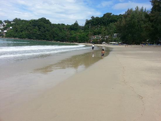 Swissotel Resort Phuket Kamala Beach: Clean Kamala Beach