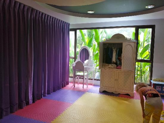 Swissotel Resort Phuket Kamala Beach: Play dress up at Kids World