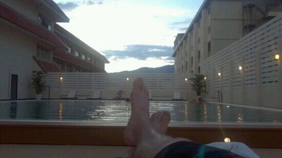 โรงแรมเมอร์เคียว เชียงใหม่: Great newly renovated pool!!