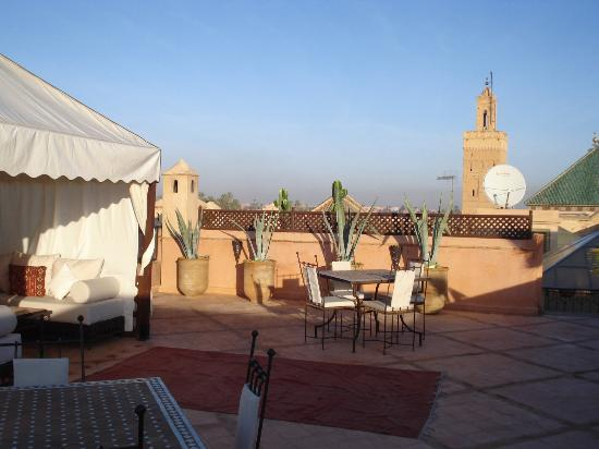 Riad Shama: Roof Terrace