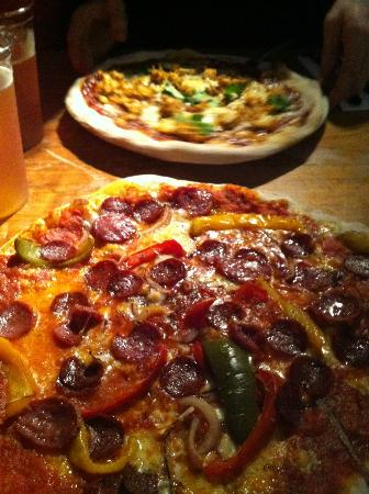 Zerodegrees - Cardiff: Pizza Sweet and Spicy Italian Sausage