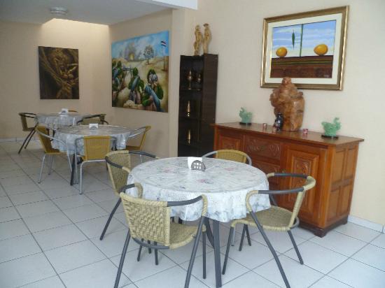 Hotel Casa Suiza: La salle du petit déjeuner