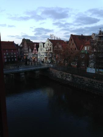 Hotel Altes Kaufhaus: morning view from the room