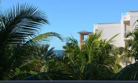 Key West Marriott Beachside Hotel: View from the balcony 