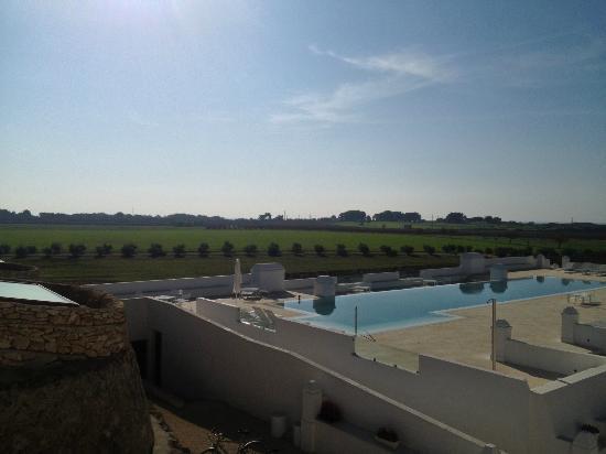 Masseria Bagnara Resort & Spa: vista dal balcone interno