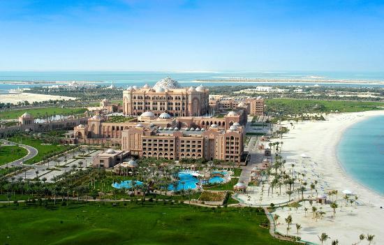 Emirates Palace Exterior