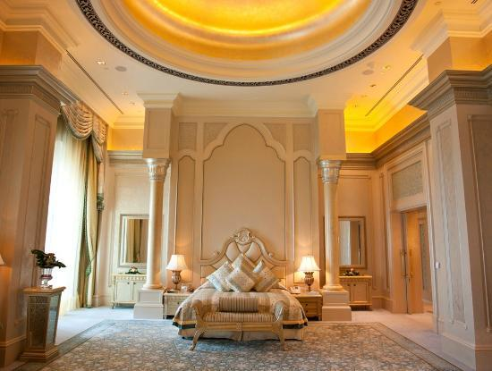 Emirates Palace: Palace Suite Master bedroom