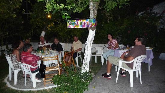Villa Martha: Party in the garden