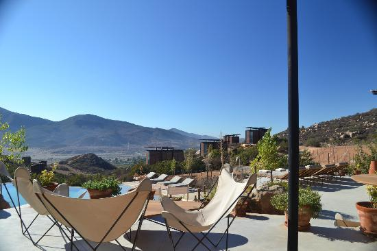 Encuentro Guadalupe: Pool/Restaruant Area 