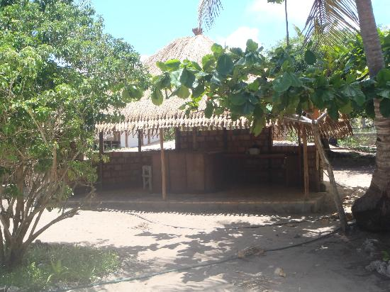 Bamboozi Beach Lodge: kitchen for self catering