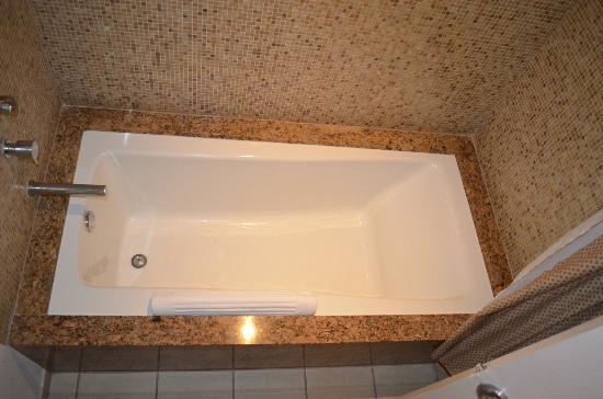 Seminole Hard Rock Hotel Hollywood: Very nice clean bathtub