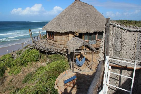 Bamboozi Beach Lodge: View from sea view chalet