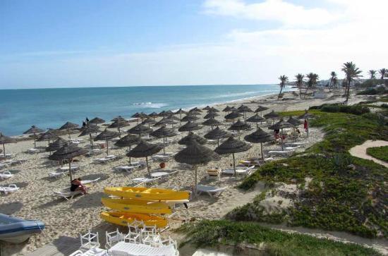 Radisson Blu Ulysse Resort & Thalasso Djerba: Strand