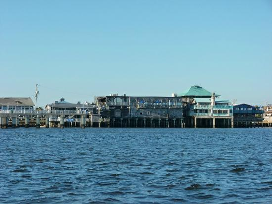 Natures Landing Condominium: The Dock from the sea