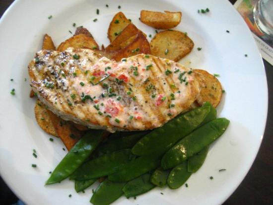 the Clarendon Bar : Swordfish steak
