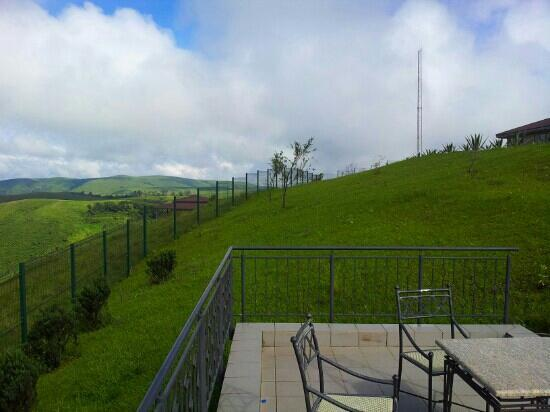Obudu Mountain Resort: view from the presidential villa