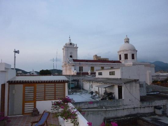 La Casa del Agua: View from the rooftop deck