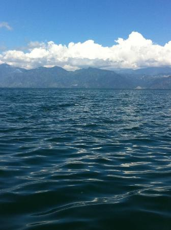 Kaalpul Atitlan Eco Hotel & Spa: From the dock
