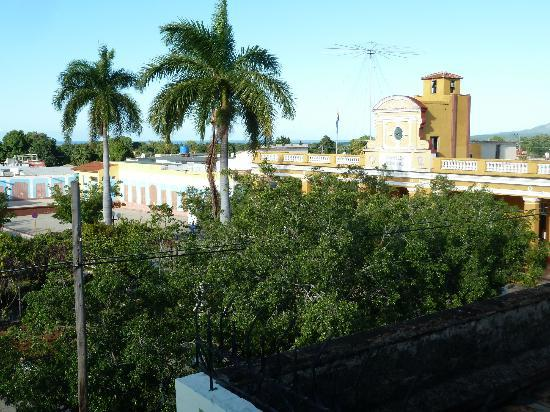 Iberostar Grand Trinidad: View over Parque Cespedes from our balcony