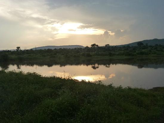 Mkuze Falls Lodge : Sunset