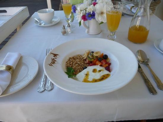 Klipheuwel Country House: Frühstück