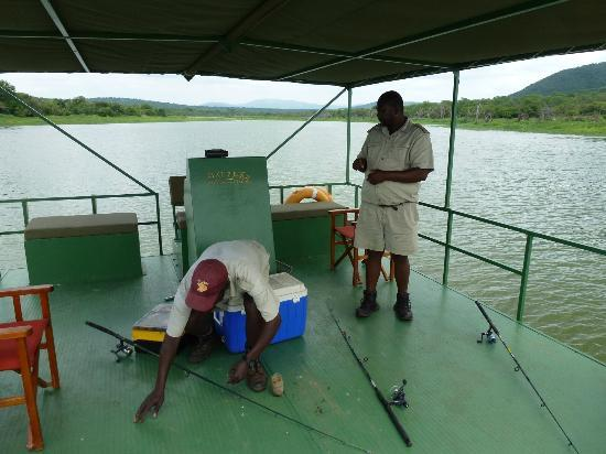 Mkuze Falls Lodge: Fishing