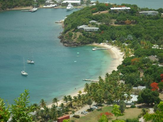 Voyages Antigua Tours and Services : Antigua's English Harbour, a hurricane hole