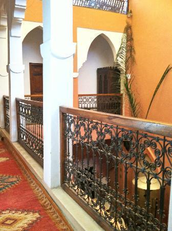 Riad Jonan: Hallway to my room