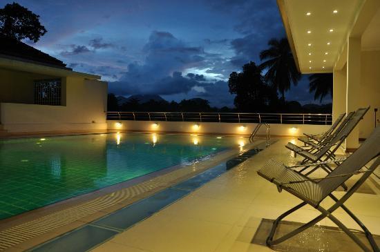 Serene Villa Ratnapura: View from the pool deck