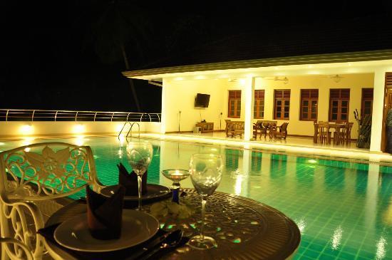Serene Villa Ratnapura: View of the pool area