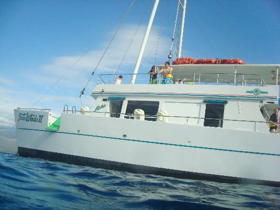 Four Winds II Snorkel at Molokini: The boat