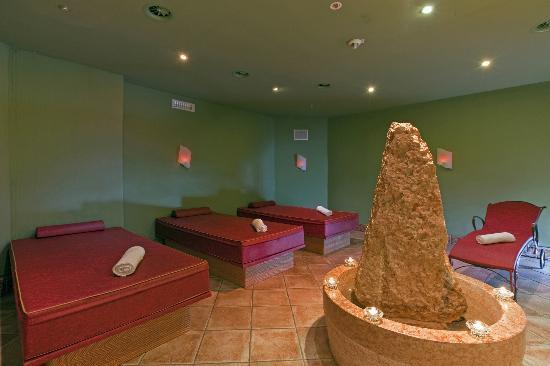 Hotel Post: Meditationsraum mit Wasserbetten