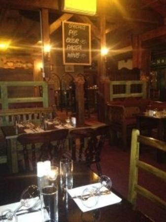 Best Steakhouse and Grill: Rustic interior