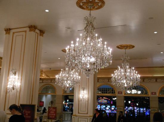 Paris Las Vegas: The lobby