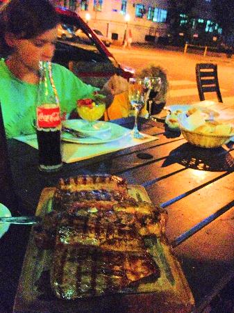 Parrilla La Dorita : the steaks