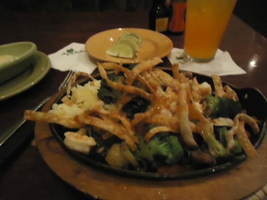 Applebee's : Sizzling Asian Shrimp and cilantro