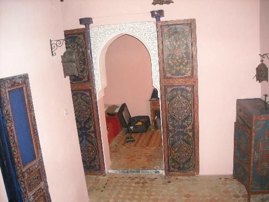 Riad Filalia: view from the hall