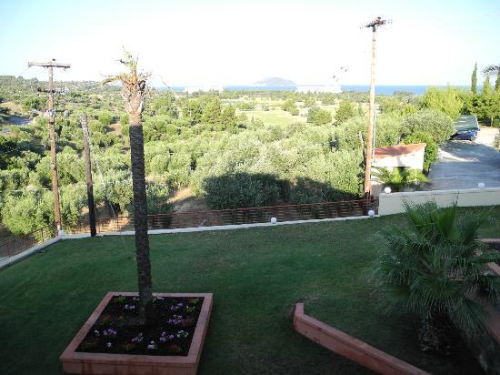 Kelyfos Bungalows & Suites: View from balcon