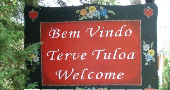 Pousada Serra da India: Bem-vindo