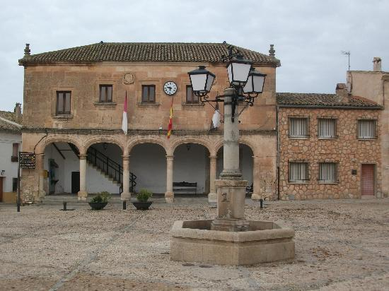 Hostal Don Juan: the Hostal is just to the right of this old central plaza building