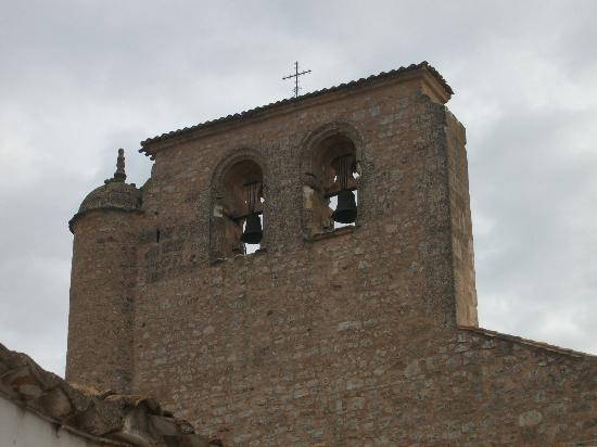 Hostal Don Juan: lovely cathedral adorns the town. my apology; the chimes made me swear in fright on way to dinn