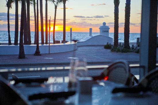 Spazio: Dine with a view of Fort Lauderdale Beach