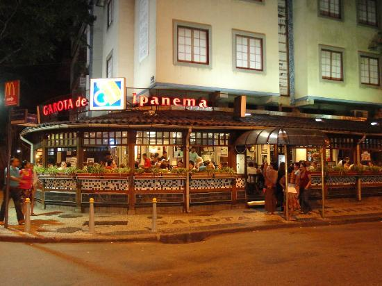 Bar e Restaurante Garota de Ipanema : Fachada do bar