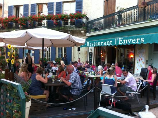 Restaurant L'Envers : L'envers zomer 2011-onze eerst bezoek! Top-erg gezellig
