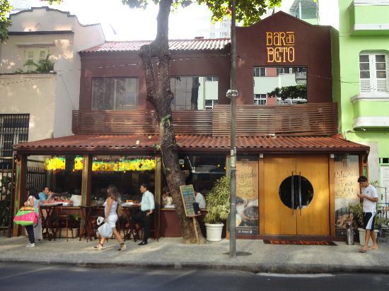 Fachada do restaurante picture of bar do beto rio de for Fachada para restaurante
