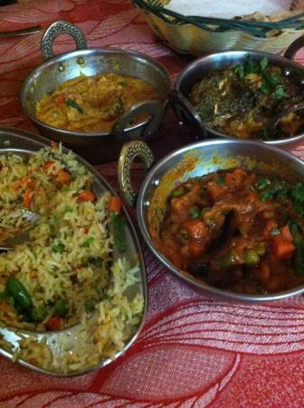 Bombay Masala: vegetarian dishes