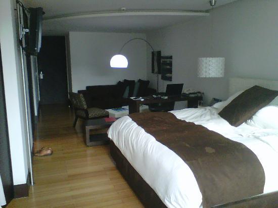Le Parc Hotel: Vista interior