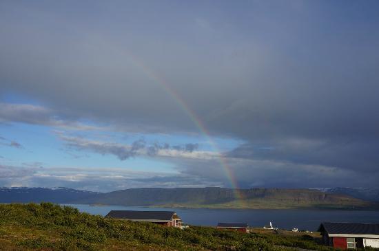 Hotel Glymur: Rainbow
