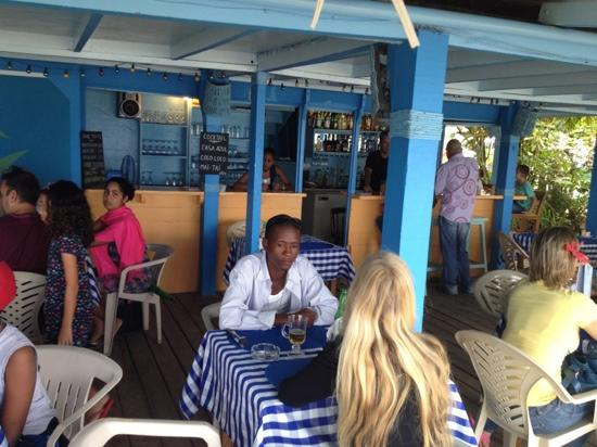 Casa Azul : right on the beach, on the line of converted fisherman shacks- fun atmosphere!
